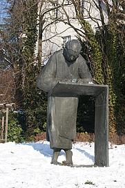 Author photo. Caesarius of Heisterbach memorial, Königswinter-Oberdollendorf, Germany. Photo by user Tohma / Wikipedia