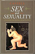 Sex and Sexuality: A Thematic Dictionary of…