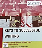 Keys to Successful Writing a Handbook for…