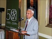 Author photo. Leon Rousseau at the 50th birthday of Human & Rousseau - Photo: © Ben Williams