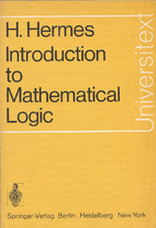 Introduction to mathematical logic by Hans…
