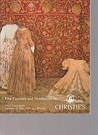 Christie's 1990 Fine Costume and Needlework…