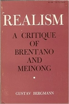 Realism: A Critique of Brentano and Meinong…