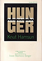 Hunger: A Novel by Knut Hamsun