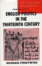 English Politics in the Thirteenth Century…