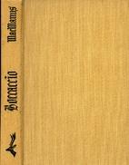 Boccaccio by Francis MacManus
