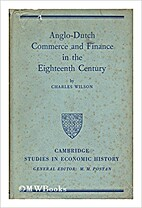 Anglo-Dutch commerce & finance in the…