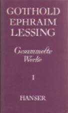 Gesammelte Werke. Bd. 1. Gedichte und…