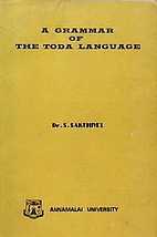 A grammar of the Toda language by Cu.…