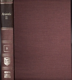 Britannica Great Books: Aristotle II by…