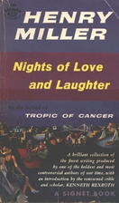 Nights of Love and Laughter by Henry Miller