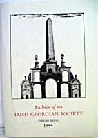 Bulletin of the Irish Georgian Society by…