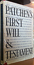 First will & testament by Kenneth Patchen