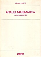 Analisi matematica Vol. 2 by Alfredo Lorenzi
