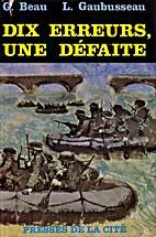 Dix erreurs, Une défaite by Georges Beau