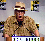 Author photo. Eisner Awards (Best Digital Comic), San Diego Comic-Con 2007, by Lampbane