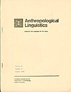 Anthropological Linguistics 28 (1986) 2:…