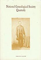 National Genealogical Society Quarterly, v.…