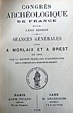 France: 1896, 63e Congrès archéologique de…