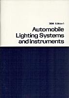 Automobile Lighting Systems and Instruments…