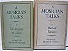 A musician talks by Donald Francis Tovey