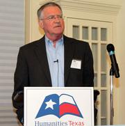 Author photo. Humanities Texas