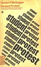 Student protest by Gerald F. McGuigan