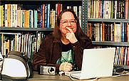 Author photo. Photo courtesy of Elaine Marie Alphin.