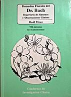 Remedios Florales del Dr. Bach, Repertorio…