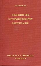 Geschichte der Naturwissenschaften im…