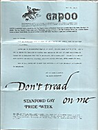 Gapoo Newsletter (May 15, 1974 - Supplement)…
