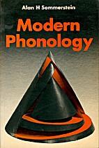 Modern phonology (Theoretical linguistics)…