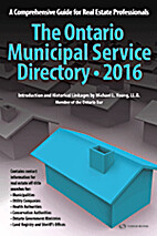 The Ontario Municipal Service Directory: A…