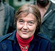 Author photo. Dian Fossey in November 1985; photograph by Yann Arthus-Bertrand.