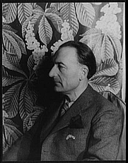 Author photo. Jules Romains, 1936. Photo by Carl Van Vechten. (Library of Congress Prints and Photographs Division)