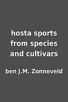 hosta sports from species and cultivars by…