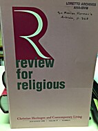 Review For Religious: Christian Heritages…