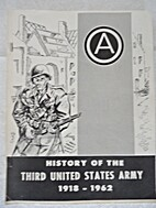 History of the Third United States Army…