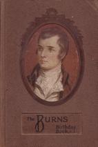 THE BURNS BIRTHDAY BOOK by Burns