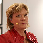 Author photo. Lotta Gröning at Göteborg Book Fair 2011. Photo by Arild Vågen from Wikipedia.