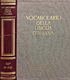 Vocabolario Della Lingua Italiana, Vol 3…