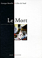 Le Mort by Bataille Georges/Staal De Gilles