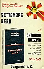 Settembre nero by Antonino Trizzino
