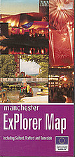 Manchester ExPlorer Map including Salford,…
