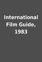 International Film Guide, 1983