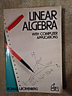Linear Algebra with Computer Applications…