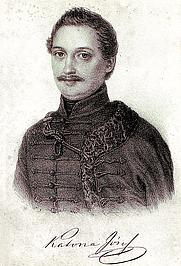Author photo. Barabás Miklós litográfiája
