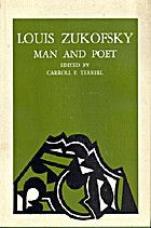 Louis Zukofsky: Man and Poet by Carroll F.…