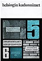 Helsingin kadunnimet by Olavi Terho