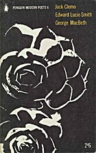 Penguin Modern Poets 6: Jack Clemo, Edward…
